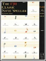 The FJH Classic Note Speller, Book 1 Sheet Music