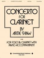 Concerto For Clarinet Sheet Music