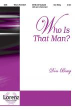 Who is That Man? Sheet Music