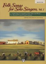 Folk Songs for Solo Singers - Vol. 1, Medium High (Book) Sheet Music