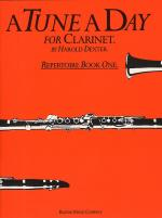 A Tune A Day For Clarinet Repertoire Book 1 Sheet Music