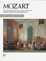 Mozart -- Selected Intermediate to Early Advanced Piano Sonata Movements Sheet Music