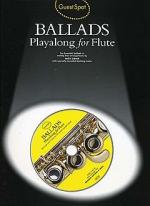 Guest Spot: Ballads Playalong For Flute Sheet Music