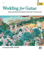 Wedding for Guitar - in Tab Sheet Music