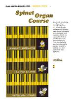 Palmer-Hughes Spinet Organ Course, Book 5 Sheet Music
