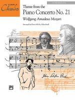 Theme from Piano Concerto No. 21 Sheet Music