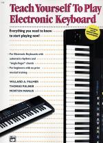 Alfred's Teach Yourself To Play Electronic Keyboard - Book Sheet Music