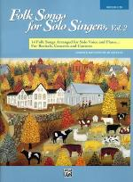 Folk Songs for Solo Singers, Vol. 2 Sheet Music