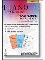 Piano Adventures Flashcards In-a-Box Sheet Music