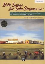 Folk Songs for Solo Singers - Vol. 1, Medium High (Book/CD) Sheet Music