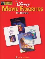Disney Movie Favorites For Recorder Sheet Music