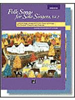 Folk Songs for Solo Singers, Vol. 2 Sheet Music