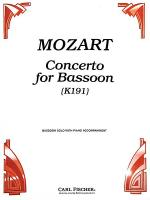 Concerto for Bassoon (K191) Sheet Music