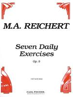 7 Daily Exercises, Op. 5 Sheet Music