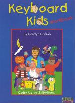 Keyboard Kids Color Notes & Rhythms Workbook Sheet Music