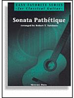 Sonata Pathetique for Easy Classical Guitar Sheet Music