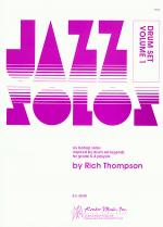 Jazz Solos For Drum Set, Volume 1 Sheet Music