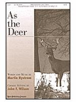 As the Deer Sheet Music