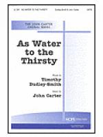 As Water to the Thirsty Sheet Music