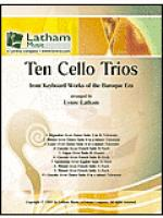 Ten Cello Trios Sheet Music