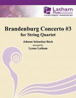 Brandenburg Concerto #3 for String Quartet Sheet Music