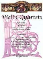 Violin Quartets - Volume 1 Sheet Music