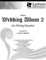 Wedding Album 2 for String Quartet - Score Sheet Music