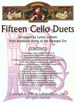 Fifteen Cello Duets Sheet Music