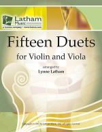 Fifteen Duets for Violin and Viola Sheet Music