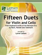 Fifteen Duets for Violin and Cello Sheet Music
