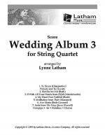 Wedding Album 3 for String Quartet - Score Sheet Music