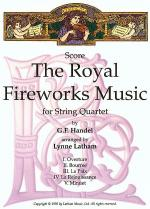 The Royal Fireworks Music for String Quartet Sheet Music