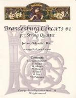 Brandenburg Concerto #1 for String Quartet Sheet Music