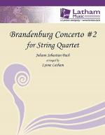 Brandenburg Concerto #2 for String Quartet Sheet Music