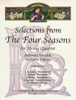 Selections from The Four Seasons for String Quartet Sheet Music