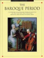 Anthology Of Piano Music Volume 1: The Baroque Period Sheet Music