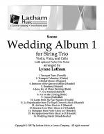 Wedding Album 1 for String Trio - Score Sheet Music
