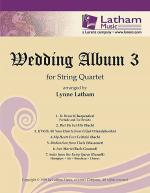 Wedding Album 3 for String Quartet Sheet Music