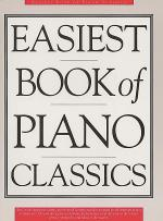 The Easiest Book of Piano Classics Sheet Music