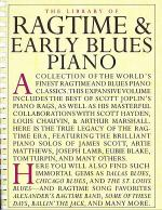 Library Of Ragtime & Early Blues Piano Sheet Music