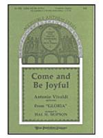 Come and Be Joyful Sheet Music