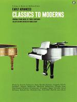 Early Advanced Classics To Moderns Sheet Music
