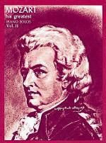 Mozart - His Greatest Volume 2 Sheet Music