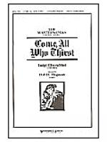 Come, All Who Thirst Sheet Music