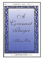 A Covenant Prayer Sheet Music