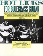 Hot Licks for Bluegrass Guitar Sheet Music