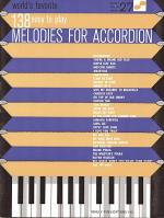 138 Easy to Play Melodies for Accordion Sheet Music