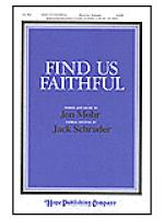 Find Us Faithful Sheet Music
