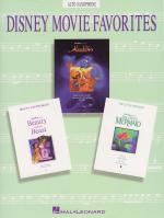 Disney Movie Favorites Instrumental Solo Alto Saxophone Sheet Music