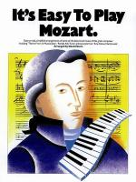 It's Easy to Play Mozart Sheet Music